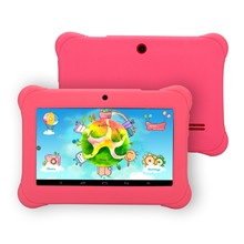 iRULU Y1 7″ BabyPad For Kids Education Quad Core Android Tablet PC for Children 0.3MP RAM 1GB ROM 8GB Silicone Case Gift Hot