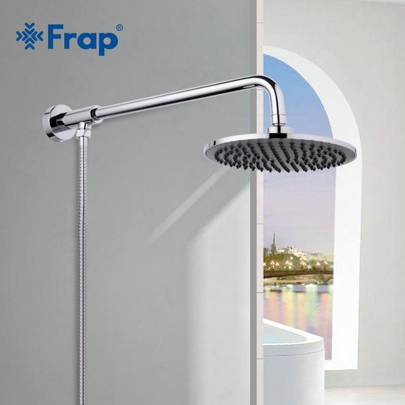 FRAP Лидер продаж мм 205*205 мм ABS насадки для душа с нержавеющая сталь arm Топ экономии воды верхний дождь Душ F2406-1