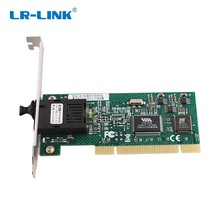 LR-LINK 7020PF-BD 100 МБ PCI сети Ethernet Интерфейс контроллер волокна сетевой карты SFP оптический для настольных ПК компьютер NIC