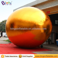 6M Giant golden egg model big Easter egg decoration inflatable egg replica toy egg for Easter outdoor party decoration 2018 NEW