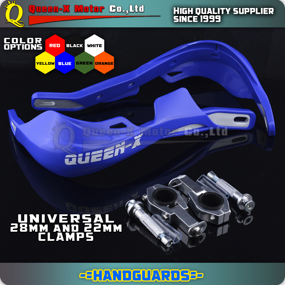 Blue handguards for motocross enduro motorcycle for dirt pit bike hand protection YZ85 YZ125 YZ250 YZ250F