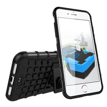 For iPhone 7 Plus Case Heavy Duty Armor Shockproof Hybrid Kickstand Hard Rugged Rubber Phone Cover For Apple iPhone 7 Plus 5.5