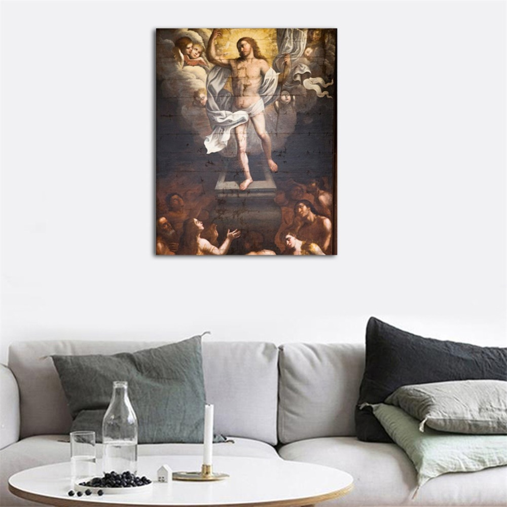 Christian Religion Abstract Popular High Quality Canvas Artwork Painting For Home Decor Living Room Bedroom Decoration in Painting Calligraphy from Home Garden