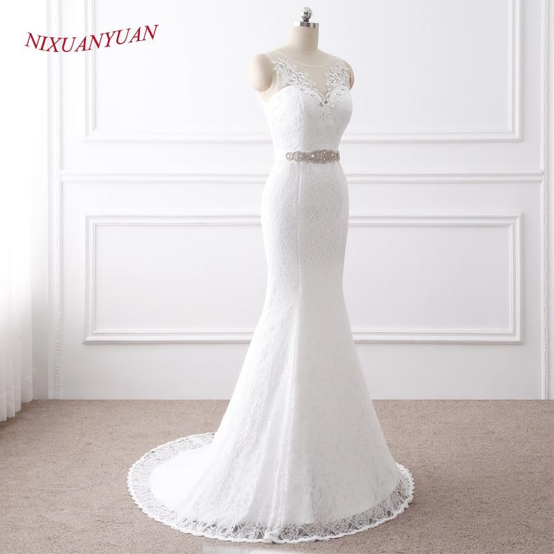 NIXUANYUAN 2018 Νέες Κομψές Εφαρμογές O - Γαμήλια φορέματα - Φωτογραφία 2