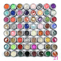 Gel Len Mix 64 glitter uv gel Nail Art UV Gel Extension DIY Builder glitter uv gel polish
