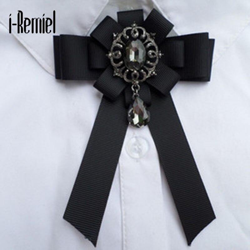 I-remiel broches unisexe Broche véritable à la mode en alliage de Zinc Broche Joker mode à la main arc Broche haut de gamme neutre assemblage Corsage