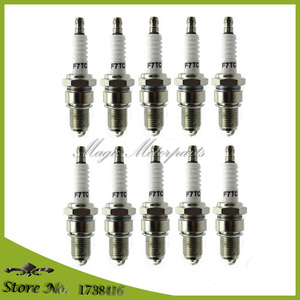 Image 1 - 10x F7TC Spark Plug For Honda GX120 GX160 GX200 GX240 GX270 GX340 GX390 Generator Lawnmower