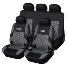 AUTOYOUTH Car Seat Cover Polyester Fabric Universal Automobile Seat Covers For Seat Protector Car Styling Interior Accessories
