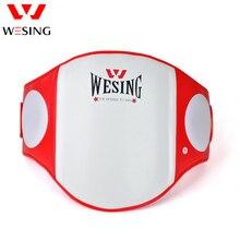 Wesing boxing muay thai almohadilla Protector abdominal de vientre MMA Protector corporal artes marciales escudo