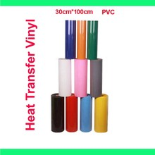 Free shipping 1 sheet 12 x40  30cmx100cm PVC Heat Transfer Vinyl
