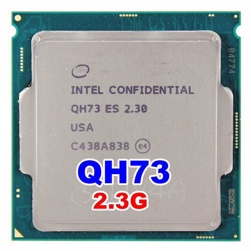 ES QH73 ES I7 CPU processor Engineering version of 6700K I7 6700K 2 3Ghz turbo boost