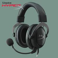 Kingston HyperX игровая гарнитура Cloud II Hi Fi 3,5 мм Портативный аудио/видео для ПК и PS4 музыка Динамик микрофон Xbox наушники