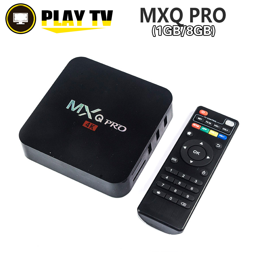 Amlogic S905x Quad Core Android 6 0 Tv Box Mxq Pro 1gb 8gb