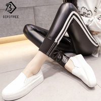 2017 High Waisted Skinny Women Pants Legging Winter Elastic Velvet Outer Wear Women S Female Thicken