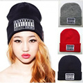 1 PCS Free Shipping Hiphop PARENTAL ADVISORY EXPLICIT Beanies For Man Women Woolen Knitted Hat Sport Cap Warm Hats Autumn Winter