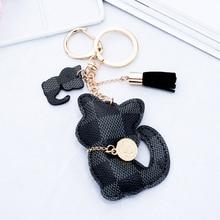 Cat Tassel Keychain