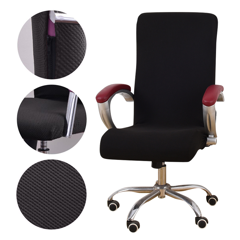 Universal Jacquard Fabric Office chair cover Computer elastic armchair Slipcovers seat Arm Chair Covers Stretch Rotating Lift