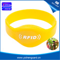 100pcs 13.56MHZ MF Classic 1K S50 F08 NFC Tags ISO14443A Silicone NFC Wristband Bracelet For Swimming Pool Sauna Room GYM
