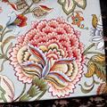Estilo pastoral Retro de flores de peonía mesa tela liberación bouchat