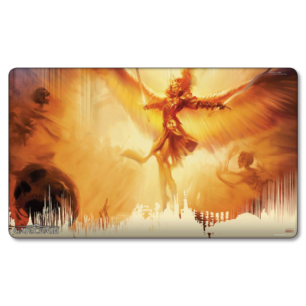 ( Aurelias Fury ) Magic Game Playmat,Board Games Nicol Bolas MGT Play Mat,Custom Pad Big Mousepad with Free Bag