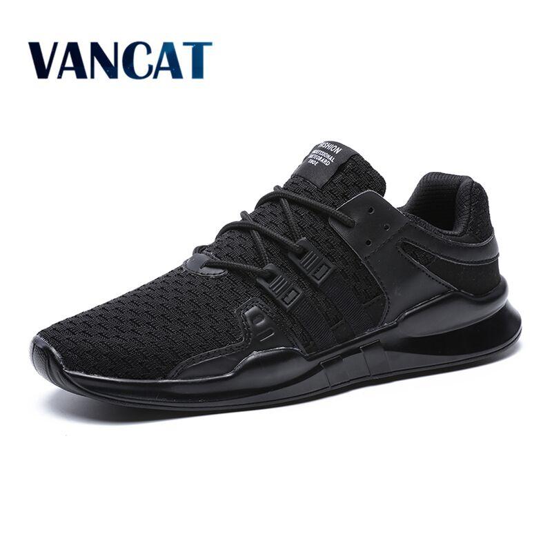 VANCAT Fashion Mens Shoes Sneakers Casual Shoes Comfortable Footwear Big Size Shoes Spring Summer Mens Shoes Zapatillas Hombre
