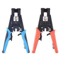 Multifunction Squeeze Plier Wire Crimping Repair Tools Wire Cutter for RG58 RG59 RG6 F BNC RCA