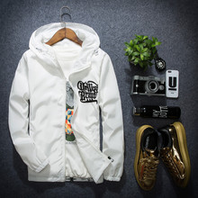 2016 Brand Clothing Sportswear Sunscreen Emergency Hooded Trench Manteau Homme Thin Coats Unisex Masculine Jacket Hooded