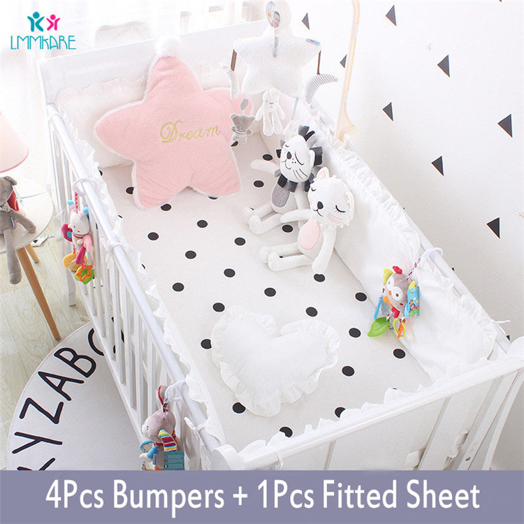 5Pcs-Baby-Breathable-Crib-Bumper-Pad-Oval-Bed-Crib-Liner-Set-for-Baby-Boys-Girls-Safe(2)