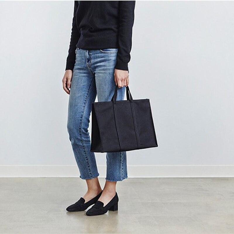Dames Tissu Toile Sac Fourre-Tout À La Main Coton Shopping Voyage Femmes Épaule Pliant Shopping shopper Sacs bolsas de tela