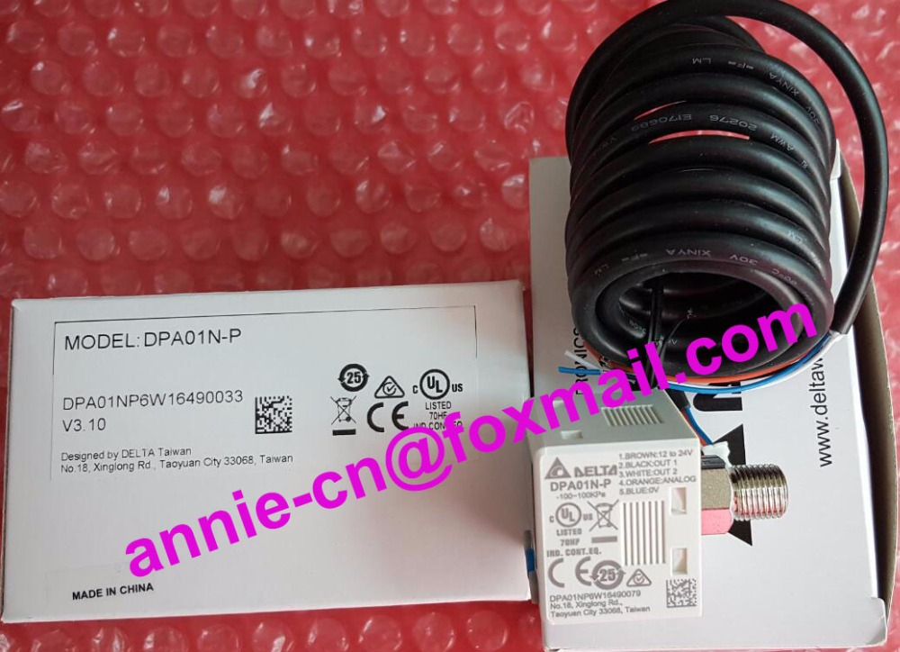 DPA01N-P  New and original  Delta  Pressure switch  -100kPa to 100kPa pressure switch dro dpa10m p