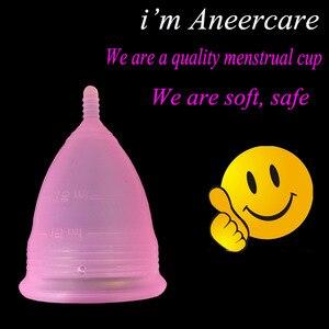 Image 5 - 20pcs/lot Wholesale Reusable lady cup silicon woman coupe menstruelle copo menstrual silicone cup feminine hygiene product