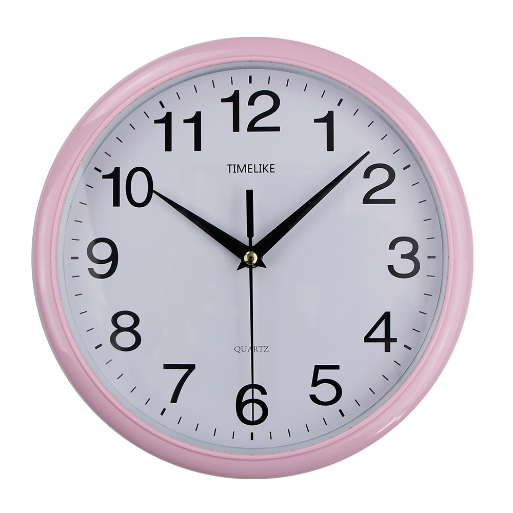 2019 New Arrival Classic Vintage Round Wall Clock Modern Plasitc Clock Quartz Horloge Retro Wathces Relogio De Parede