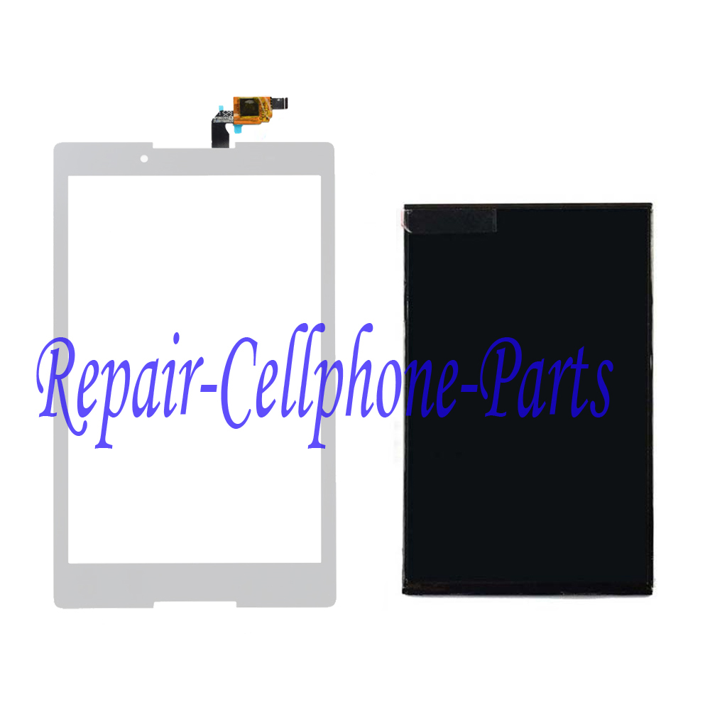 Galleria fotografica White LCD DIsplay + Touch Screen Digitizer For Lenovo Tab 2 A8-50F A8-50F/LC Tracking Number