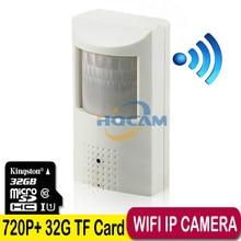 720P Wifi Night vision camera Mini IP Camera Security Camera Indoor P2P Security CCTV support TF SD card