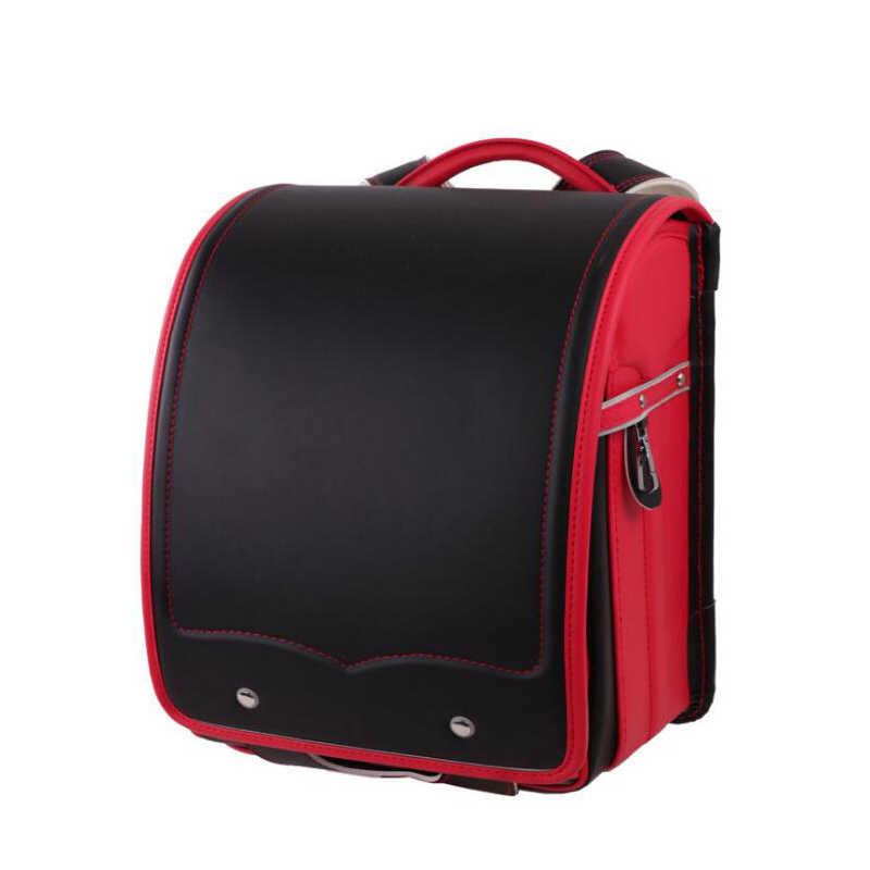 Новая женская школьная сумка, японский рюкзак с металлической застежкой, однотонный водонепроницаемый pu кожаный ортопедический школьный портфель, первоклассная сумка для детей 1-3 лет