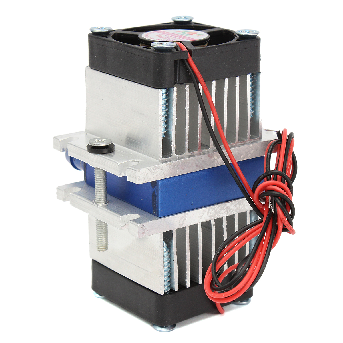 10-50C R/&D Thermoelectric Cooler P/&N TECHNOLOGY Small Thermoelectric Peltier Air Cooler 100W 24V