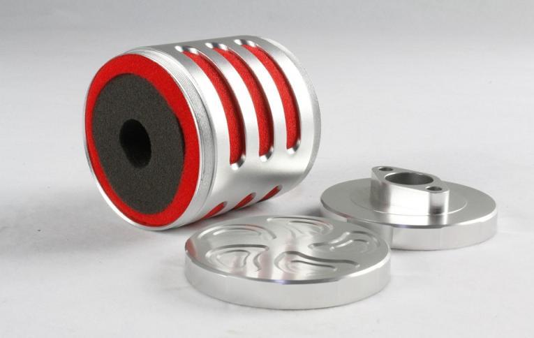 1 PC Rovan essence camion métal filtre à Air assemblage 95106 CNC filtre à Air avec doublure éponge pour télécommande RC voitures pièces