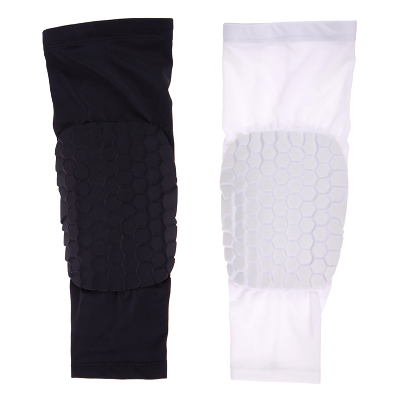 New Safety Football Volleyball Basketball KneePads Tape Elbow Tactical Knee Pads Longer Breathable Kneepad Honeycomb Bumper