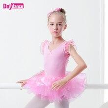 Professional Girls Kids Puffy Ballet Tutu Fairy Skirt Ballerina Ballet Performance Stage Wear White Pink Ballet Tutu