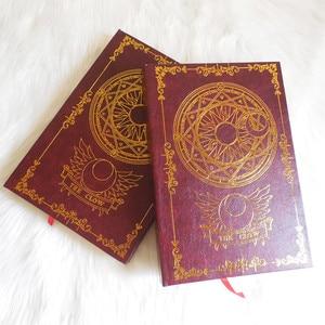 Image 4 - 2color Anime Card Captor Sakura Action Figure Magic Array Printed Magic Notebook Diary Book Stationery Journal Notebook Book