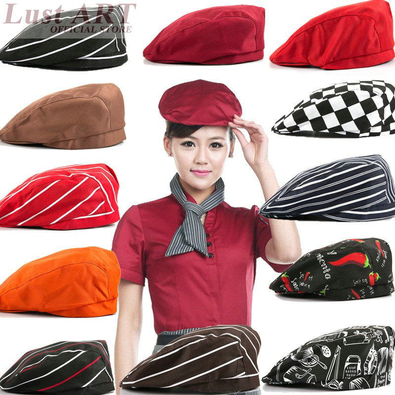 Food Service restaurant cooking hat new design hotel kitchen chef cap  fashion cook clothes B013C e46ba440314