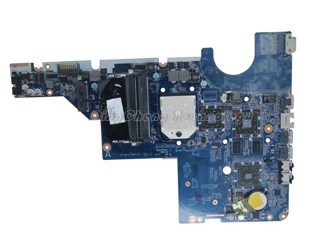 SHELI laptop Motherboard For hp CQ42 G42 CQ62 G62 611555-001 DA0AX2MB6E0 non-integrated graphics card стоимость
