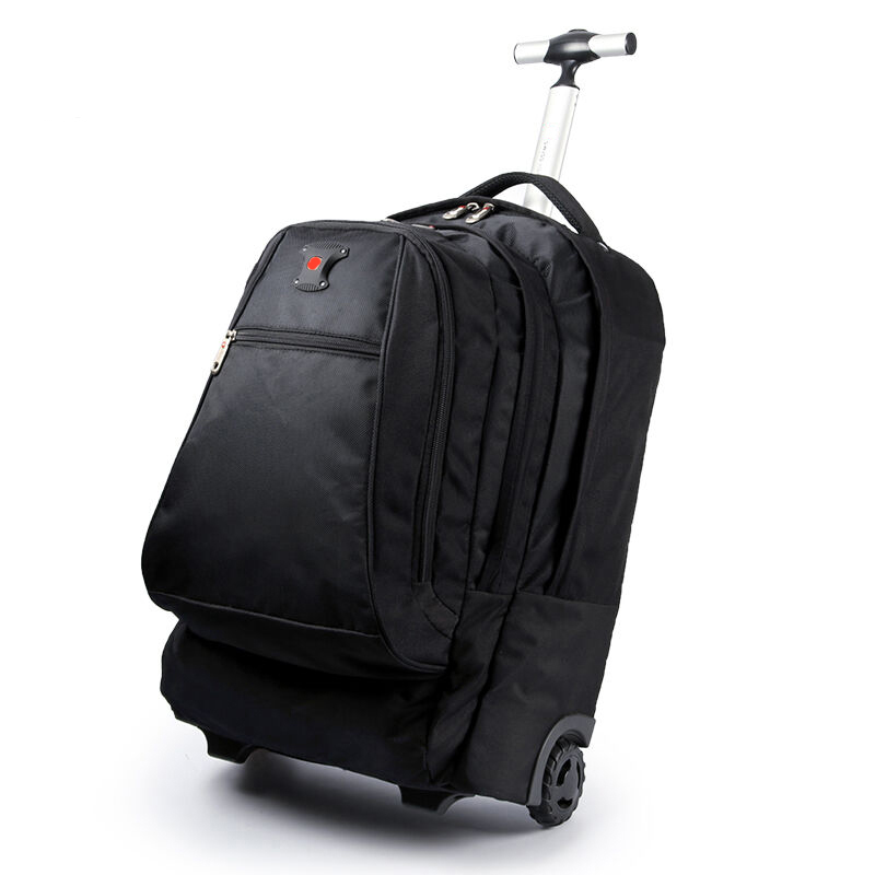 Oxford Travel Bags Men Business Rolling Luggage Shoulder Suitcase Wheels 20 inch Cabin Trolley laptop bag Trunk