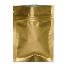 Retail 100pcs/lot 10*15cm Zip Lock Aluminum Foil Food Packaging Bag Snacks Nuts Pouches Mylar Self Seal Ziplock Package Bags