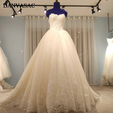 BANVASAC Ball Gown Wedding Dresses Bridal Gowns