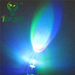 Image 3 - 50 cái LED 5 MÉT LED RGB LEDS Slow RGB Flash Red Green màu xanh Cầu Vồng Nhiều Màu Sắc Phát Ra Điốt Vòng Strobe Đèn Led Đèn ÁNH SÁNG DIY