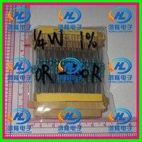 400PCS/lot 1/4W 20valuesX20pcs=400pcs Metal Film Resistor Kit 0R~100R Resistor Pack 0.25W 1% samples psck Assorted Kit