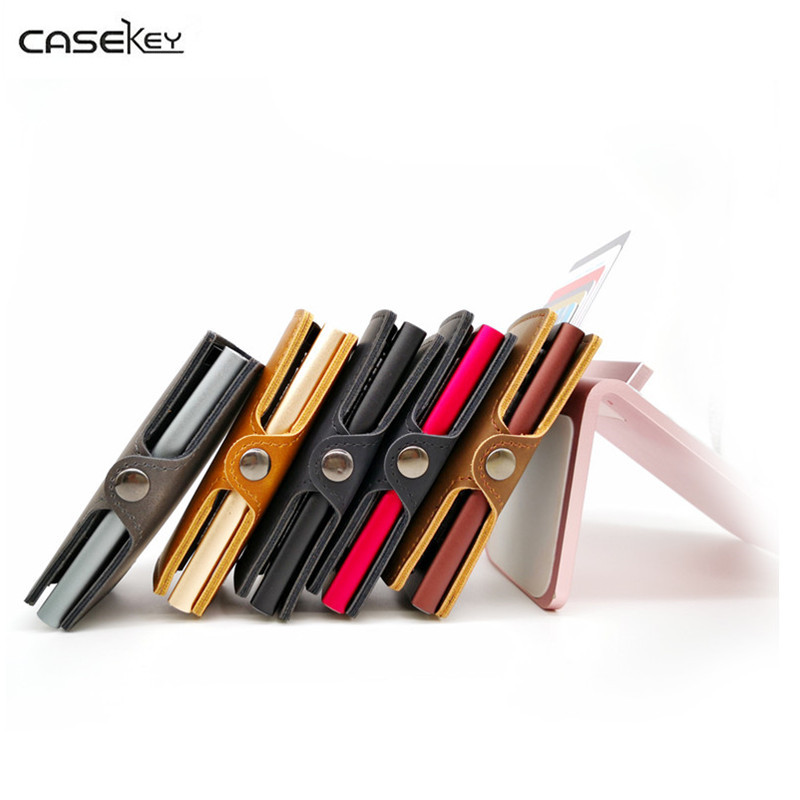 CaseKey Famous Brand Pop Up Business Men Credit Card Holder Fast Free Shipping To The Be ...