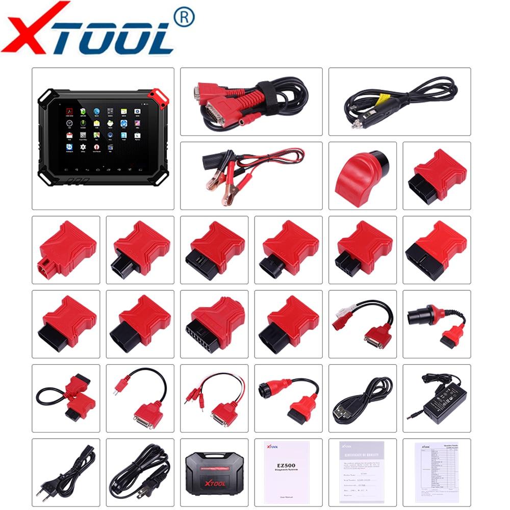 XTOOL EZ500 Pro Full-strumento di Diagnostica del Sistema A Benzina Veicoli di supporto Funzione Speciale Stessa Funzione Con XTool PS80 Aggiornamento Gratuito