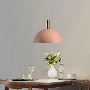 Image 5 - الشمال loft بسيطة قلادة أضواء E27 LED الحديثة الإبداعية مصباح معلق تصميم DIY بها بنفسك لغرفة النوم غرفة المعيشة المطبخ مطعم